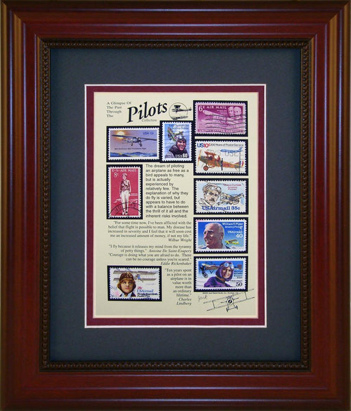 Pilots - Unique Framed Gift
