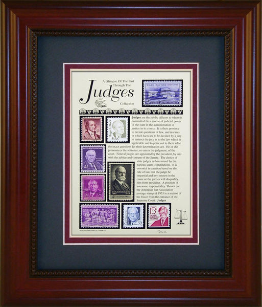 Judges - Unique Framed Gift