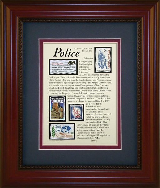 Police - Unique Framed Gift