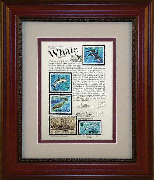 Whales - Unique Framed Gift