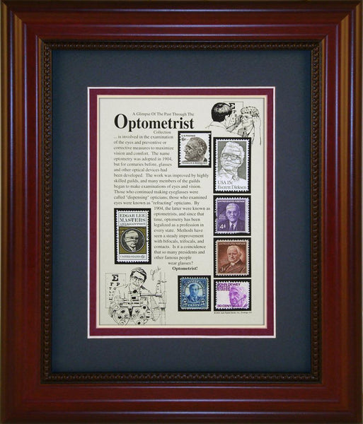 Optometrist - Unique Framed Gift