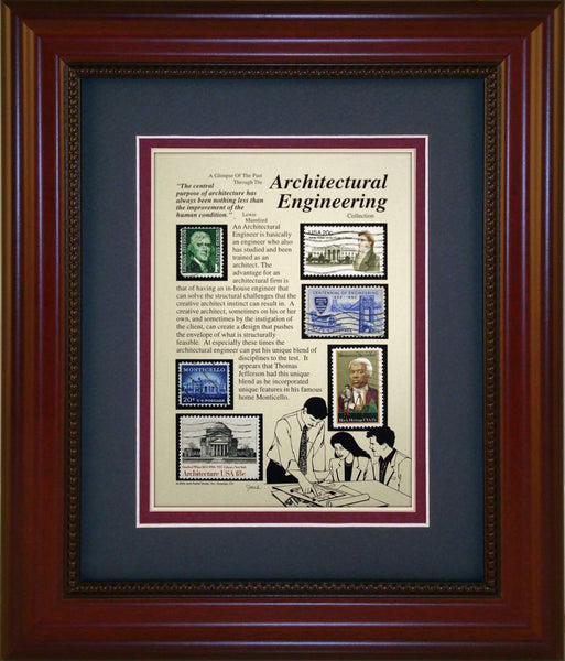 Architectural Engineer - Unique Framed Gift