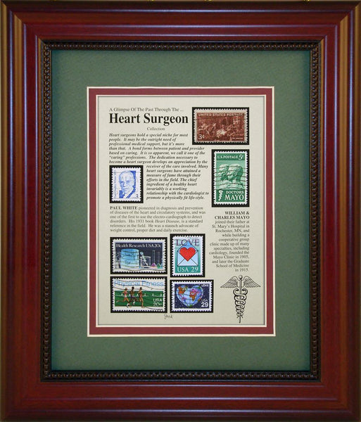 Heart Surgeon - Unique Framed Gift