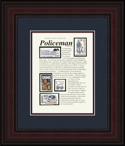 Policeman - Unique Framed Gift