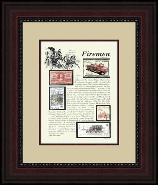 Fireman - Unique Framed Gift
