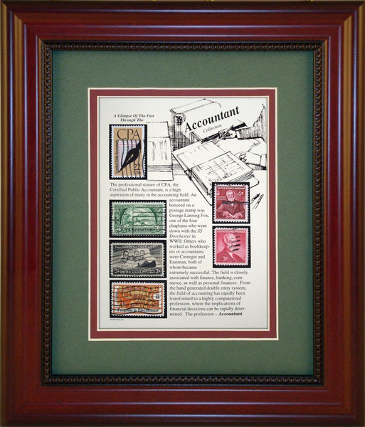 Accountant - Unique Framed Gift