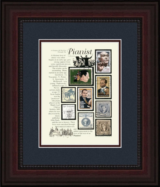 Pianist - Unique Framed Gift