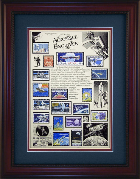 Aerospace Engineer - Unique Framed Gift
