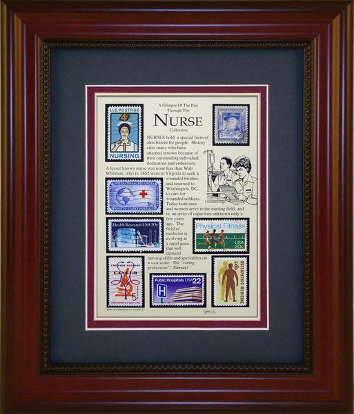 Nurse (Non Gender) - Unique Framed Gift
