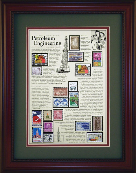Petroleum Engineering - Unique Framed Gift