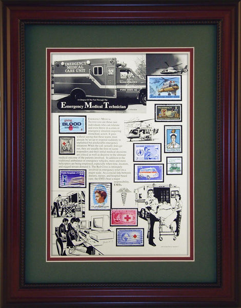EMTs - Unique Framed Gift