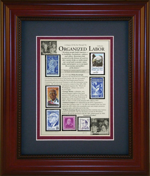 Organized Labor - Unique Framed Gift