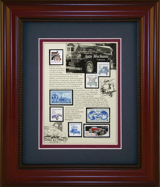Auto Mechanic - Unique Framed Gift