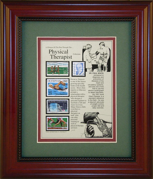 Physical Therapist - Unique Framed Gift