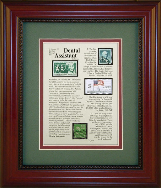 Dental Assistant - Unique Framed Gift