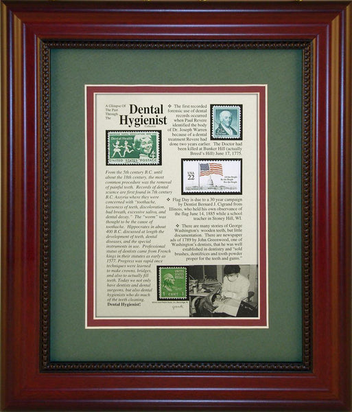 Dental Hygienist - Unique Framed Gift