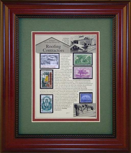 Roofing Contractor - Unique Framed Gift