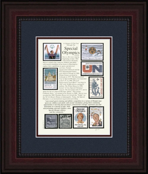 Special Olympics - Unique Framed Gift