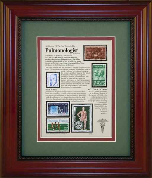 Pulmonologist - Unique Framed Gift