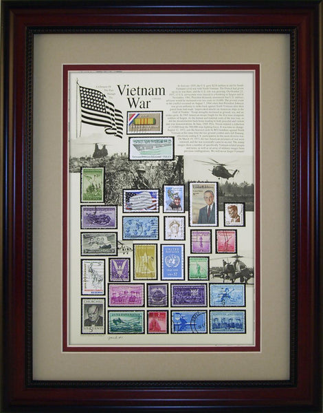 Vietnam War - Unique Framed Gift