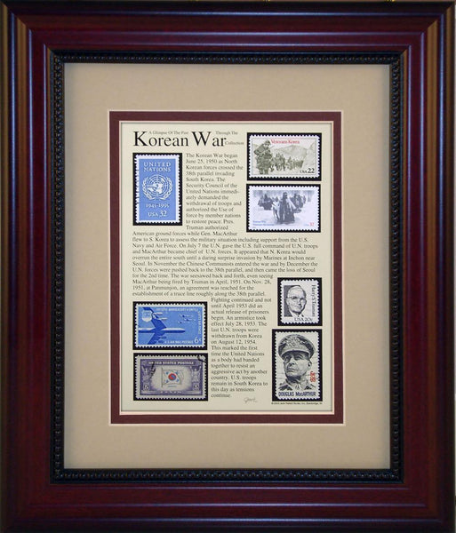 Korean War - Unique Framed Gift