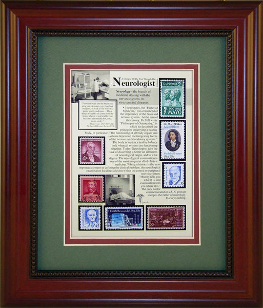 Neurologist - Unique Framed Gift