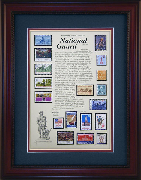 National Guard - Unique Framed Gift