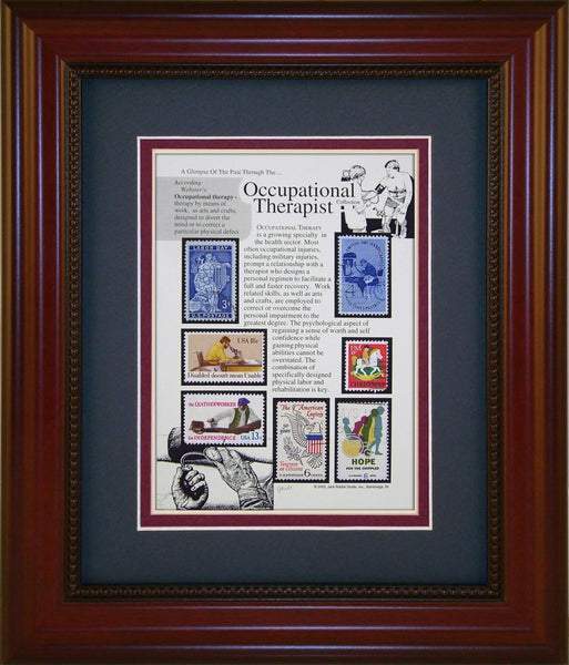 Occupational Therapist - Unique Framed Gift