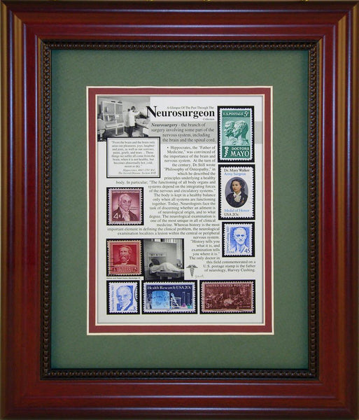 Neurosurgeon - Unique Framed Gift