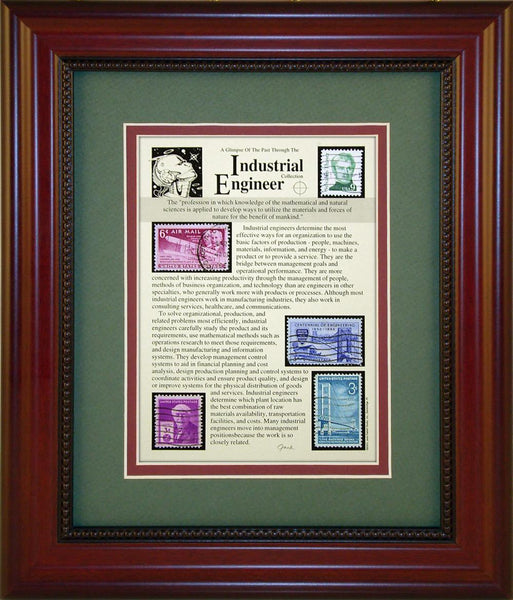 Industrial Engineer - Unique Framed Gift