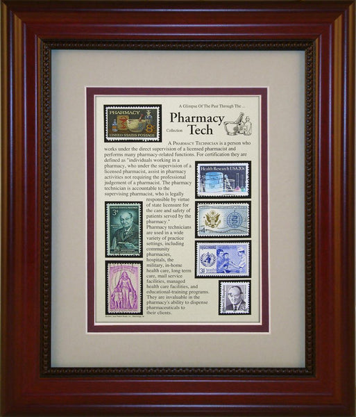Pharmacy Technician - Unique Framed Gift