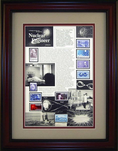 Nuclear Engineer - Unique Framed Gift