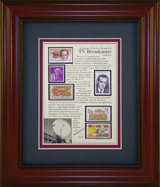 TV Broadcaster - Unique Framed Gift
