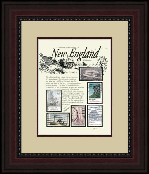New England - Unique Framed Gift