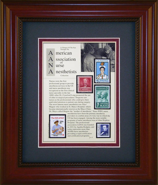 AANA Nurse Anesthetist - Unique Framed Gift