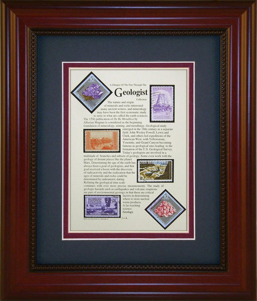 Geologist - Unique Framed Gift