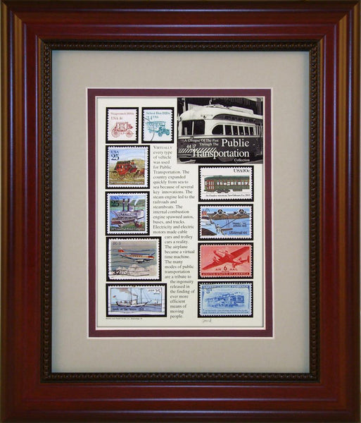 Public Transportation - Unique Framed Gift