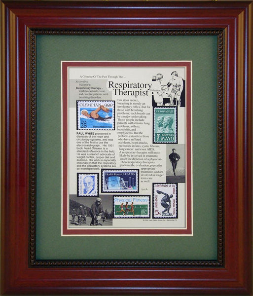 Respiratory Therapist - Unique Framed Gift