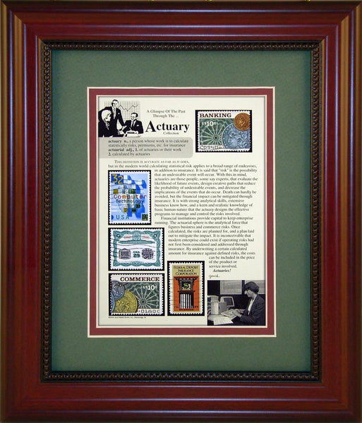 Actuary - Unique Framed Gift