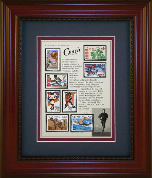 Coach - Unique Framed Gift