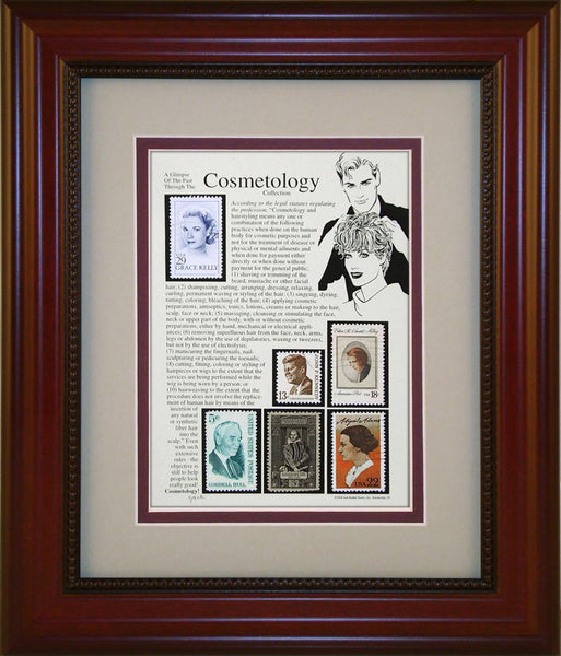 Cosmetology - Unique Framed Gift