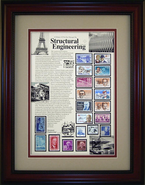 Structural Engineer - Unique Framed Gift