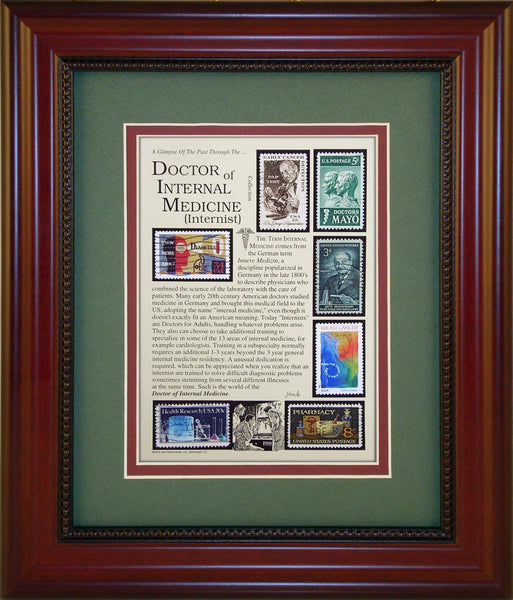 Doctor of Internal Medicine - Unique Framed Gift