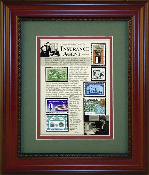 Insurance Agent - Unique Framed Gift