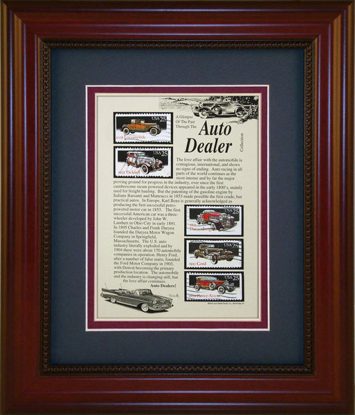 Auto Dealer - Unique Framed Gift