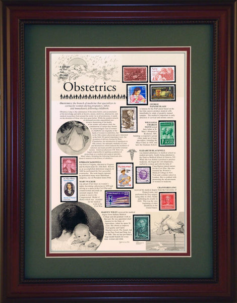 Obstetrics - Unique Framed Gift