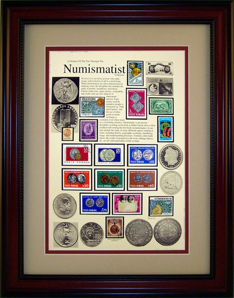 Numismatist - Unique Framed Gift