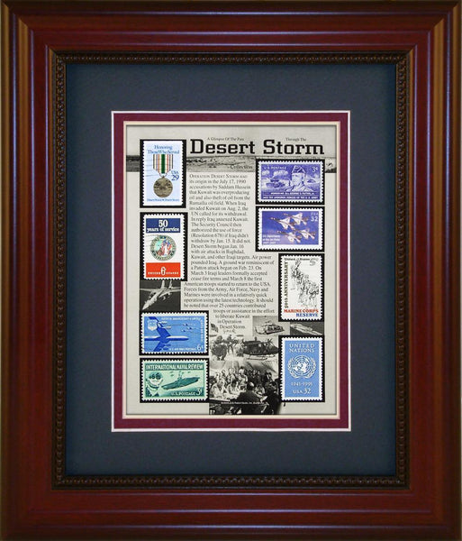 Desert Storm - Unique Framed Gift