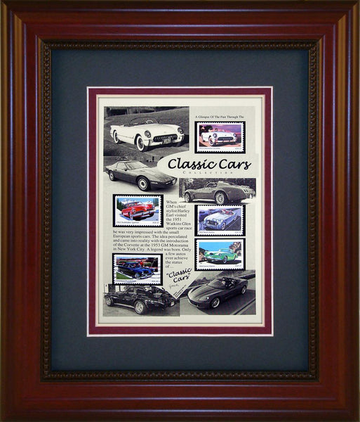 Classic Cars - Unique Framed Gift
