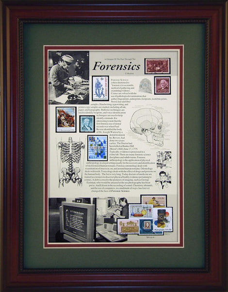 Forensics - Unique Framed Gift